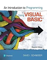 Introduction to Programming Using Visual Basic, 11th Edition Front Cover