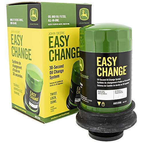 John Deere Easy Change Oil System AUC12916 E120 E130 E150 E160 E170 E180