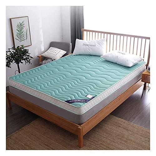 Springisso dikke latex matras topper geheugen schuim matras katoen 10 cm dikte kan worden gebruikt als matrasvloer mat Tatami mat 120×200cm