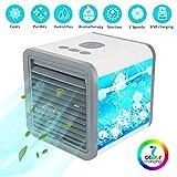 GIMIFY Mini Climatizzatore Portatile 5 in 1, Mini Raffreddatore D'aria, Mobile Raffreddato...