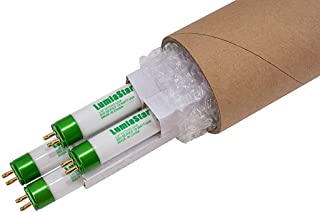 """4 Pack of 18""""/18W T5 UV Fluorescent Grow Lamps, Great for F18T5HO Tubes Replacement for Strong & Fast Grow!"""