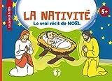 La nativité: Le vrai récit de Noël | Les perles de la Bible| La naissance de Jésus, livre de lecture pour enfants | 5+