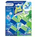 Soft Scrub in-Tank Toilet Cleaner Duo-Cubes, Alpine Fresh, 4Count