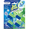 4-Count Soft Scrub in-Tank Toilet Cleaner Duo-Cubes, Alpine Fresh