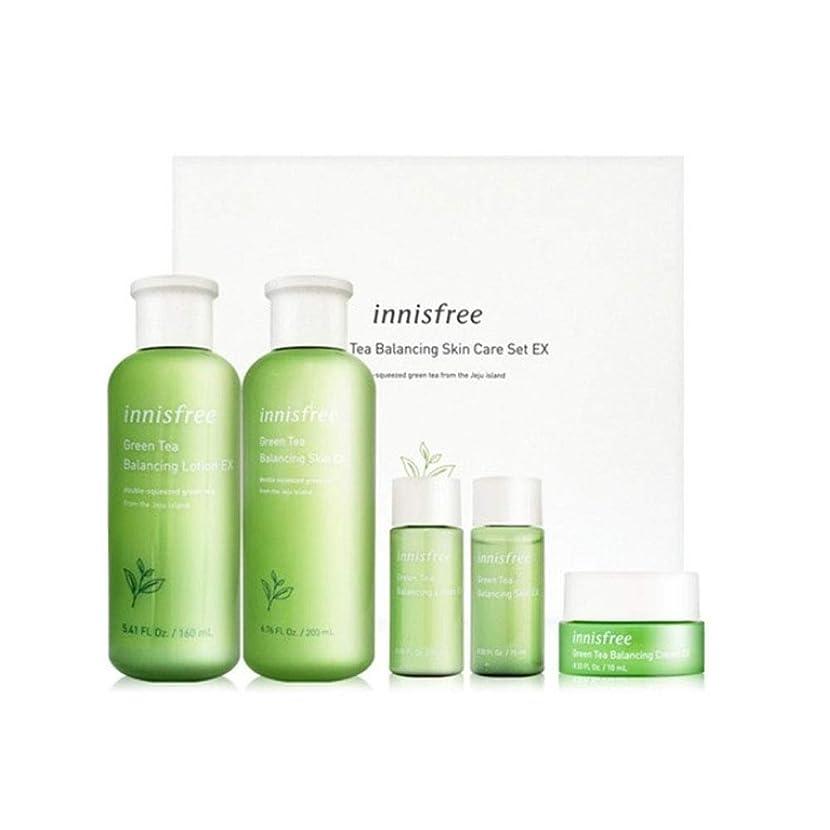 申し込む資料意識イニスフリーグリーンティーバランシングスキンケアセットの水分ケア韓国コスメ、innisfree Green Tea Balancing Skin Care Set Korean Cosmetics [並行輸入品]