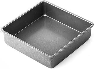 Plateau de cuisson en acier au carbone Plateau de cuisson antiadhésif Plateau de four Gâteau aux biscuits carré Moule de c...