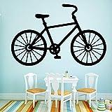 Tianpengyuanshuai Bicicleta Personalizada Etiqueta de la Pared Vinilo calcomanía Pared calcomanía-36x55cm