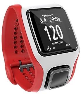 Montre GPS TomTom Multi-Sport Cardio Blanc/Rouge  (1RH0.001.03) (B00JD4TF8W) | Amazon price tracker / tracking, Amazon price history charts, Amazon price watches, Amazon price drop alerts