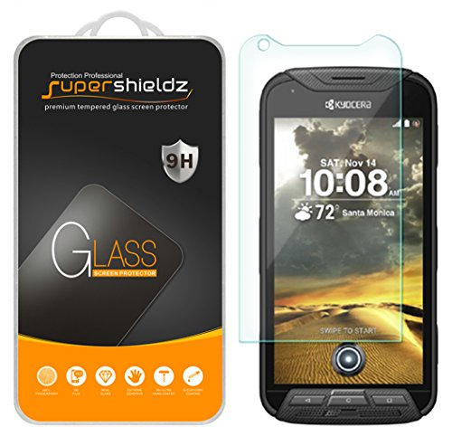 (3 Pack) Supershieldz for Kyocera DuraForce Pro (Not Fit for Duraforce Pro 2) Tempered Glass Screen Protector, Anti Scratch, Bubble Free