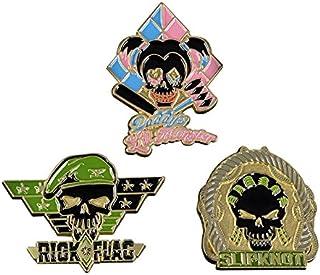 Suicide Squad Lapel Pin 3-Pack, Set 3