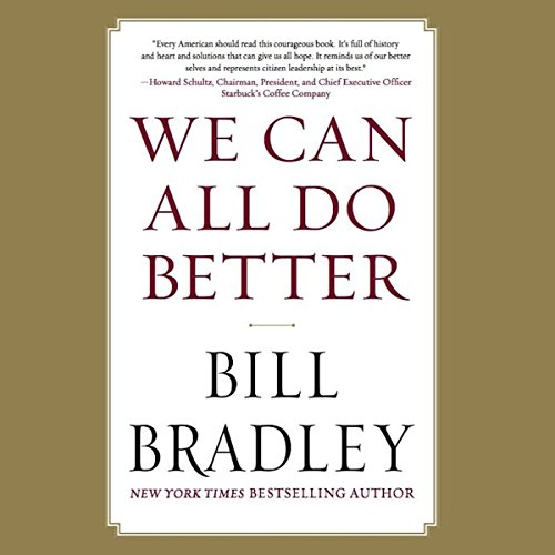 We Can All Do Better audiobook cover art