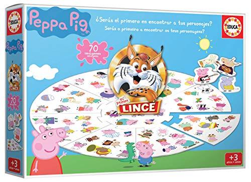 Educa - Lince Peppa Pig Juego Educativo para Niños, Multicolor (18509)