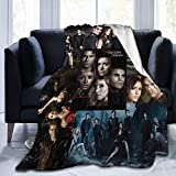 Damon Salvatore Blankets Throws Plush Fuzzy Suitable for Teens Women in The Sofa Bed Office Couch 50'×60'