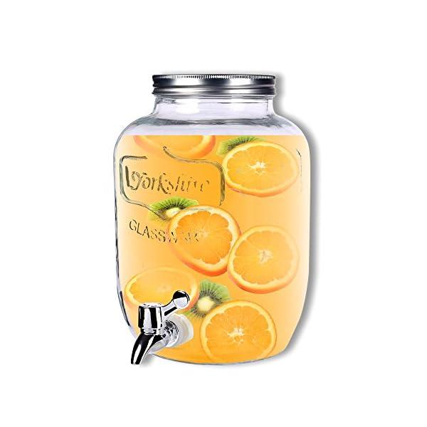 Schramm® Dispensador de Bebidas de Aprox. 3,5 litros con tapón de Rosca