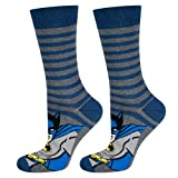 soxo Chaussettes Homme Hautes Colorées | taille 40-45 | Socquettes Batman | en Coton | idéales pour Chaussures Hautes et Basses | Excellent ajout à Votre Garde-robe