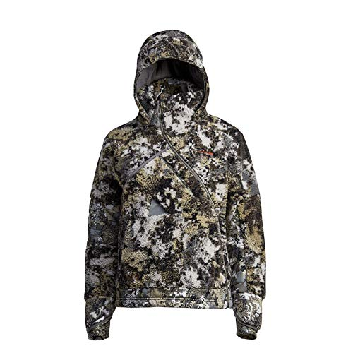 Sitka Women's Hunting Hooded Windstopper Insulated Elevated II Fanatic Jacket, Medium