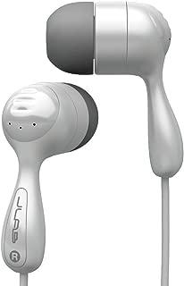 JLab Audio JBuds Hi-Fi Noise-Reducing Ear Buds, GUARANTEED FOR LIFE - White