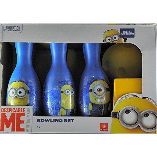 Mondo 28207 - Minions Set Palla Bowling + Birilli
