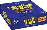 Fazer Tyrkisk Peber - Palo de relleno original de regaliz negro finlandés con sabor a pimienta, 20 g, paquete de 30