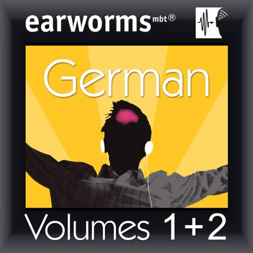 Rapid German: Volumes 1 & 2 Audiobook By Earworms Learning cover art