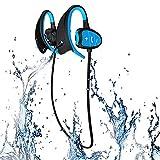 LKJCZ Casques d'écoute sans Fil Bluetooth de Sports IPX8 Professionnels de Haut...