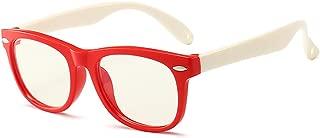 Kids Computer Glasses Video Gaming Glasses Blue Light Blocking Glasses for Kids Anti Eyestrain Eyewear