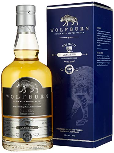 Wolfburn LANGSKIP Single Malt Scotch Whisky (1 x 0.7 l)