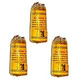 """Tibetan Lumbini Rope Incense, 3.5"""" Length - 3 Packs, 45 Sticks Per Pack"""
