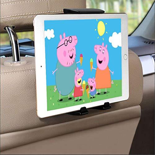 Soporte Tablet Coche, Soporte iPad Tablet, Soporte Reposacabezas con 4,5-10,5 Pulgadas, Apoyo 270 Rotación, Silicona Antideslizante, Compatible con iPad,Samsung,Huawei,Xiaomi y Otras Tabletas etc.