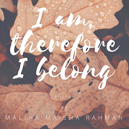 I am, therefore I belong audiobook cover art