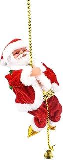 Bascar Bambola di Babbo Natale per Danza/Canto Come Peluche di Natale Giocattolo Musicale per Bambini Decorazione Stanza S...