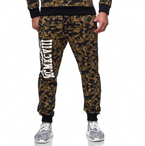 Red Bridge Sudadera Deportiva de Camuflaje Impresión Militar para Hombres Pantalones Fitness