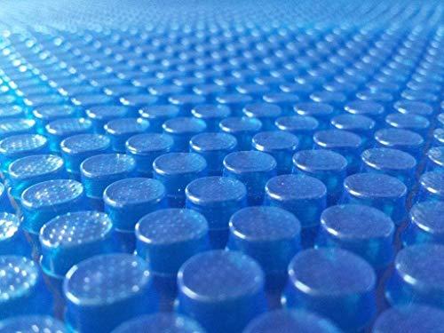 well2wellness® Solarfolie blau 400 My fertig konfektioniert für Rundbecken Ø3,00-3,20m