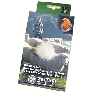 Wildlife World British Nesting Wool