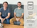 D&D Living Deko Tablett Rund Ø 40 cm | Design Dekoteller und Dekotablett aus Metall (Schwarz matt) - 7