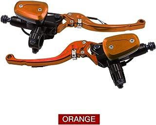 MUJUN Spare Universal motorrad reparatur ersatzteile für For Honda For Yamaha suzuki, 7/8' 22mm cnc aluminiumlegierung motorrad hydraulische hauptbremszylinder, mit 12,7mm kolben brems kupplungspumpe