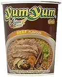 Yum Yum Instant Noodles Cup Beef - Paquete de 12 x 70 gr - Total: 840 gr...