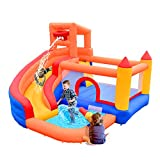 Best Inflatable Water Slides - OTTARO Inflatable Water Slide Bouncer,Bounce House Castle Waterpark Review