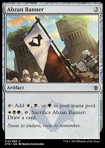 Magic The Gathering - Abzan Banner (215/269) - Khans of Tarkir