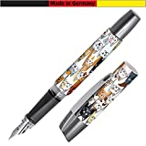color lila Cartuchos combi para pluma estilogr/áfica Online Schreibger/äte 17143//12