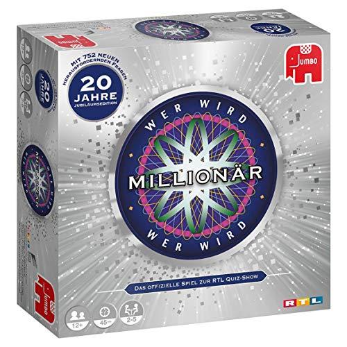 Jumbo Spiele 19736 Spiele - Wer Wird Millionär 20 Jahre Jubiläum - Gesellschaftsspiel - Ab 12 Jahren