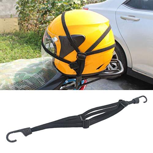 Outgeek Helmet Rope Elastic Multi-Purpose Luggage Rope Bungee Cord for Motorcycle