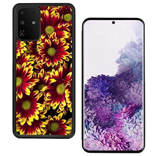 UZEUZA Funda protectora para Samsung Galaxy S20+ con bordes negros para Samsung Galaxy S20+