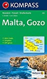 Carta escursionistica n. 235. Malta e isole Lipari. Malta, Gozo 1:25.000. Adatto a GPS. Digital map. DVD-ROM: Wandelkaart 1:25 000 (Aqua3 Kompass)
