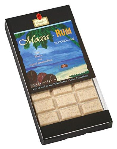 Leysieffer - Weiße Mocca Tafelschokolade mit Jamaica Rum