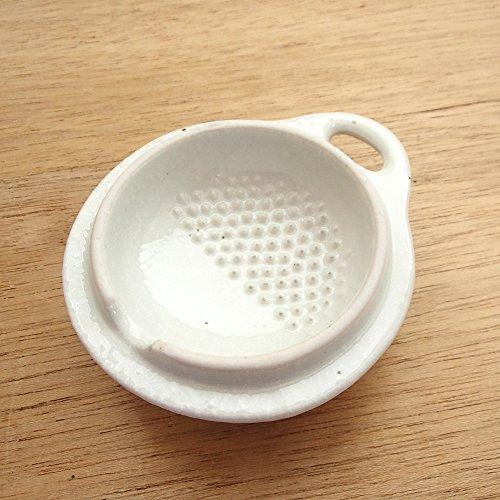 カワイ商会四季彩-ONLINE-『茶碗蒸し粉引スプーン付むし碗業務用美濃焼(6d16714-317)』