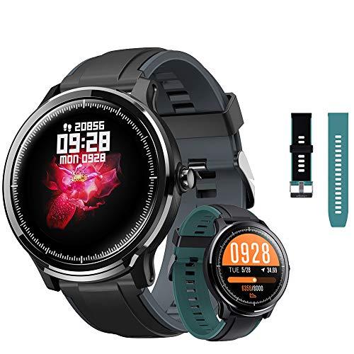 Kospet Probe Smartwatch IP68 Wasserdicht Bluetooth Fitness Tracker Pulsmesser Schlafmonitor Blutdruckmessgerät Laufsport Schrittzähler für IOS/Android