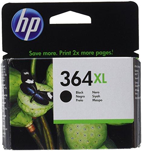HP CB321EE NO.364XL Photosmart D5460 Hi.cap. Cartucho Negro W, 0.02 liters, 0 Decibelios, Plástico