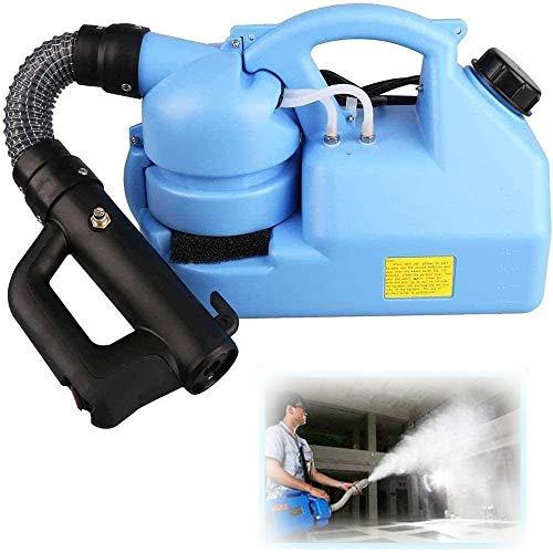 LIMEID 7L Fogger Machine Electric Intelligent Ultra Low Capacity U-L-V Atomizer Backpack Sprayer Fogger for Office, Station, School, Restaurant, Garden, Home 110V (Blue)