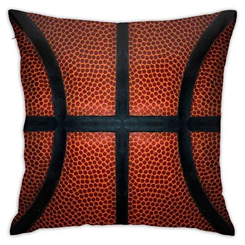 368 Divertido juego deportivo de baloncesto moderno decorativo cuadrado Throw fundas de cojín para el hogar, sofá, dormitorio, oficina, coche, 45,7 x 45,7 cm